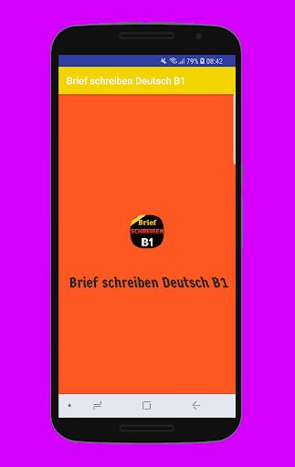 Brief schreiben Deutsch B1 2.1.1 screenshots 1