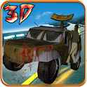 Zombie Highway Survival 3D icon