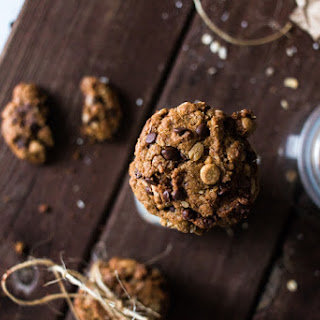 Chocolate Peanut Butter Oatmeal Cookies.