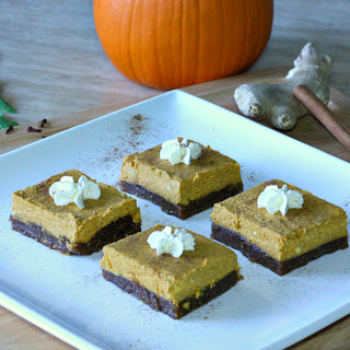 No-Bake Nutty Pumpkin Squares