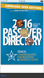 Star-K Kosher Info- screenshot thumbnail