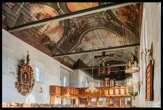Photo: Die St.-Laurentius-Kirche in Tönning ist eine mittelalterliche Saalkirche aus dem 12. Jahrhundert auf der Halbinsel Eiderstedt.