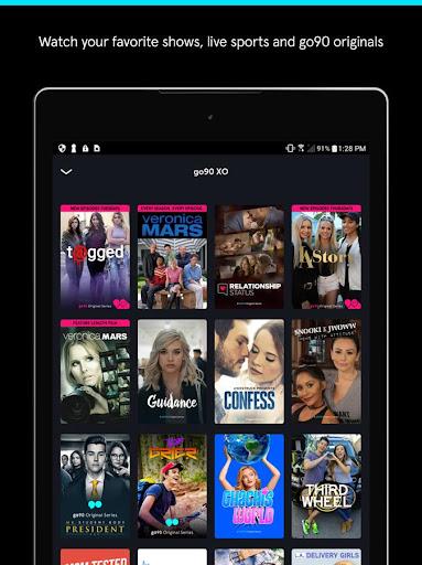 go90 - Stream TV & Live Sports Screenshot