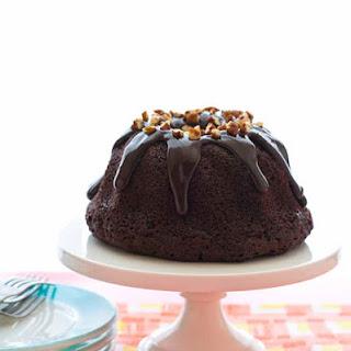 CHOCOLATE CHOCOLATE CHIP BUNDT CAKE