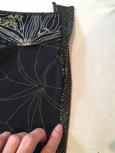 Dixie DIY Shorts Week 3   Binding & Facings