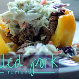 Paleo Pulled Pork Peppers