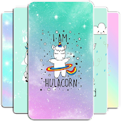 Kawaii Unicorn Wallpaper Icon
