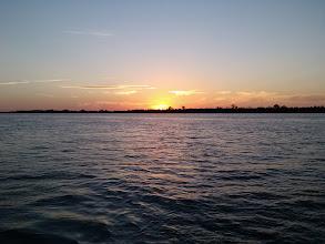 Photo: Sunset at Cumberland Towhead