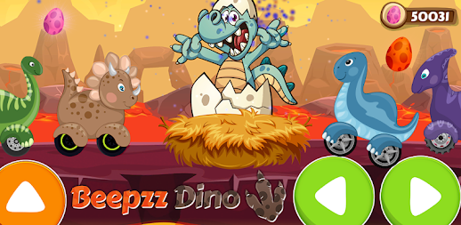 Racing game for Kids - Beepzz Dinosaur APK