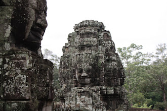 Photo: Year 2 Day 44 -  Couple of the Towers at The Bayon