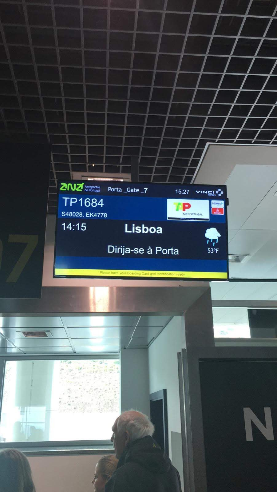 In case of Madeira flight cancellations, why don't they use these panels to inform passengers?