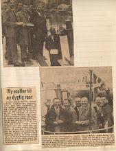 Photo: 1961 En tradition fødes: Sejltur på kanalen inden frokosten i klubhuset og kegleturneringen.
