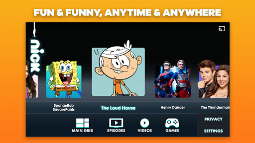 Nickelodeon Play: Watch TV Shows, Episodes & Video  screenshots 1