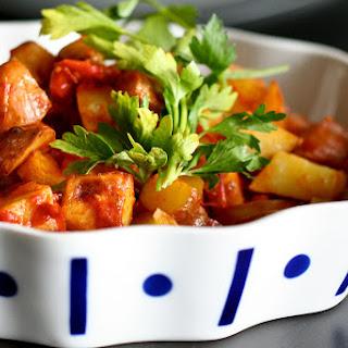 Angry Potatoes! (Patatas Bravas) Recipe