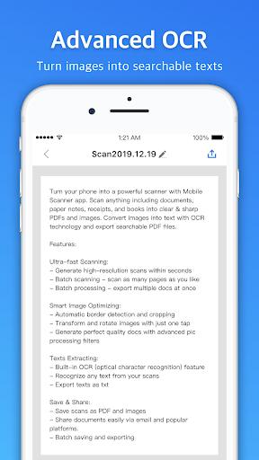MobileScanner-ScannerApp&ScantoPDF screenshot 6