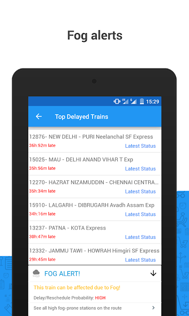 #11. PNR Status & Indian Rail Info (Android)