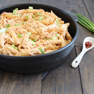 Mexican Chicken Cheesy Penne.