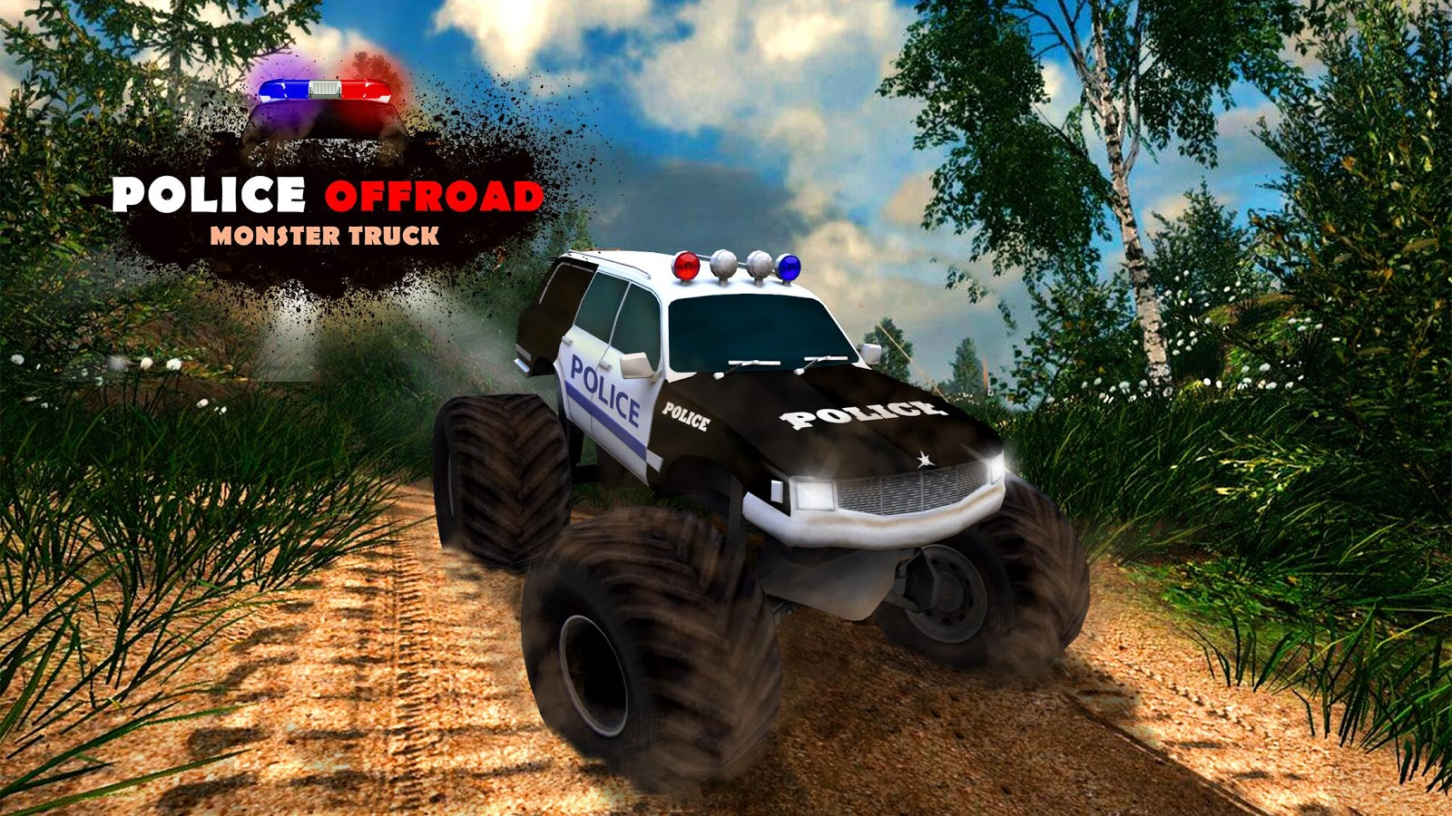 Offroad Police Monster Truck Android Apps On Google Play