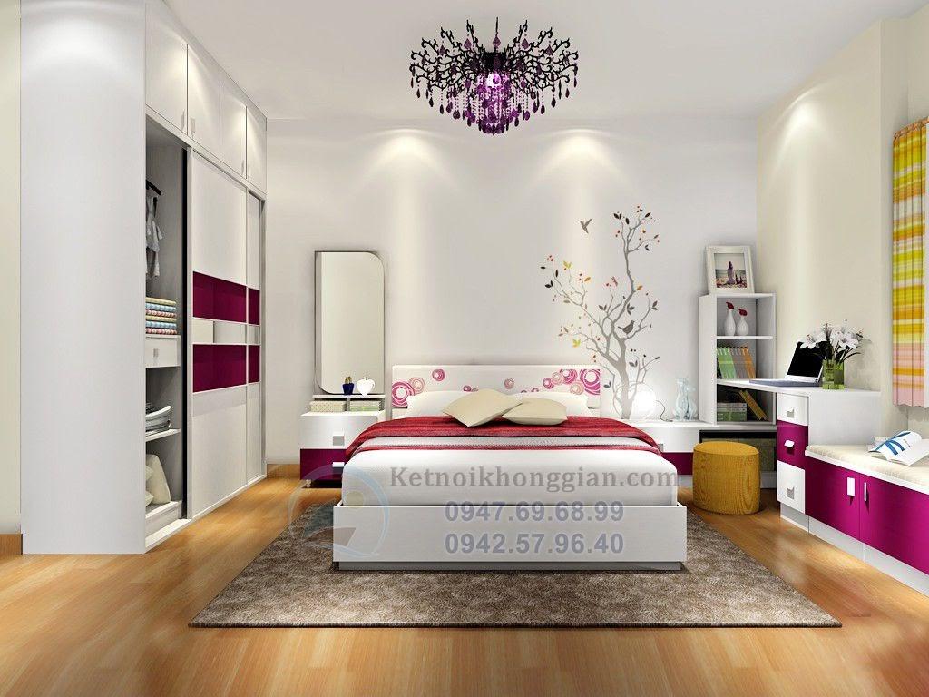Thiết kế phòng ngủ 15m2 trẻ trung