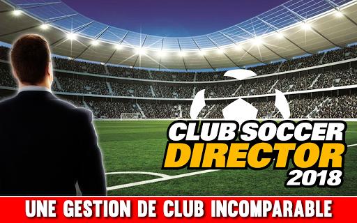 Télécharger Club Soccer Director 2018 - Football Club Manager  APK MOD (Astuce) screenshots 1