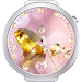 Diamond Gold Watch Face Icon