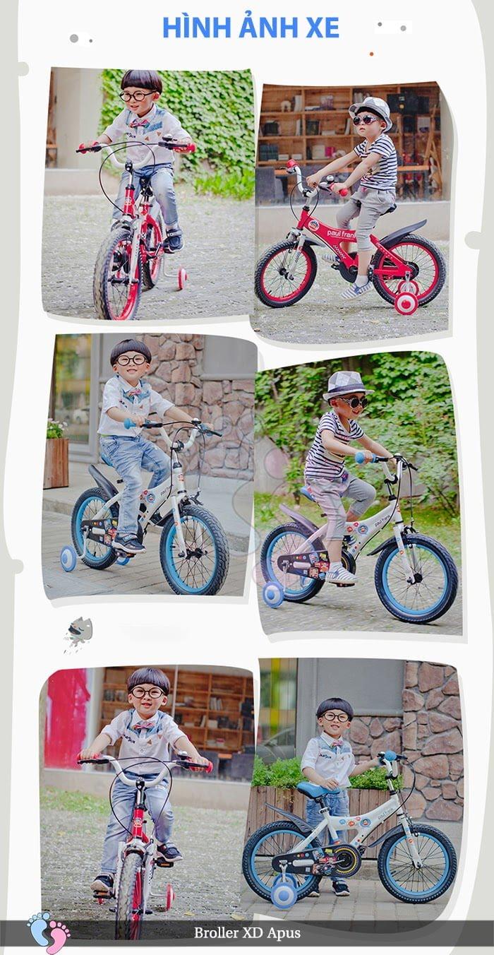 Xe đạp cho bé Broller XD Apus 1