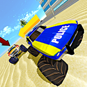 Monster Truck Chase Simulator Free Racing Game