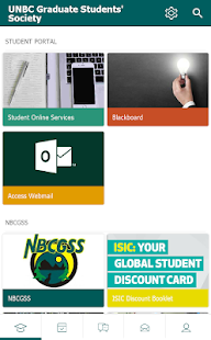 UNBC Graduate Society- screenshot thumbnail