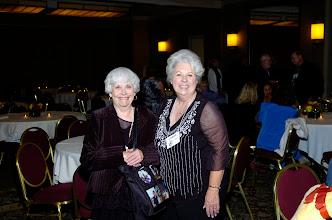 Photo: Betty Beaudette Fruchey and Carol Carr Mayo