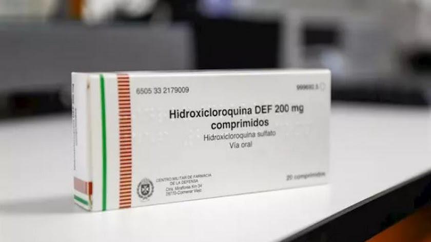 Imagen de archivo de hidroxicloroquina.