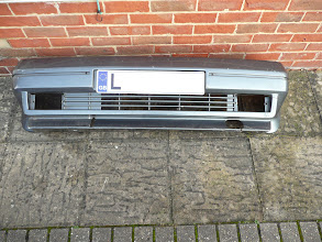 Photo: Got hold of a 2nd hand front Renault 5 Gt Turbo Phase 2 bumper. Will need repairing and spraying.