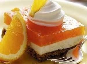 Orange Pretzel Salad Recipe