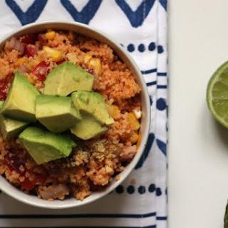 MEXICAN COUSCOUS SALAD (vegan).