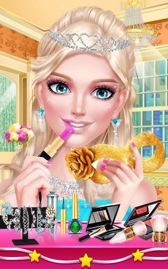 T back prom dress up games