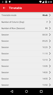 New Timetable (Widget) - 2020 Screenshot