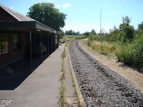Photo: Forbi den gamle station i Beder