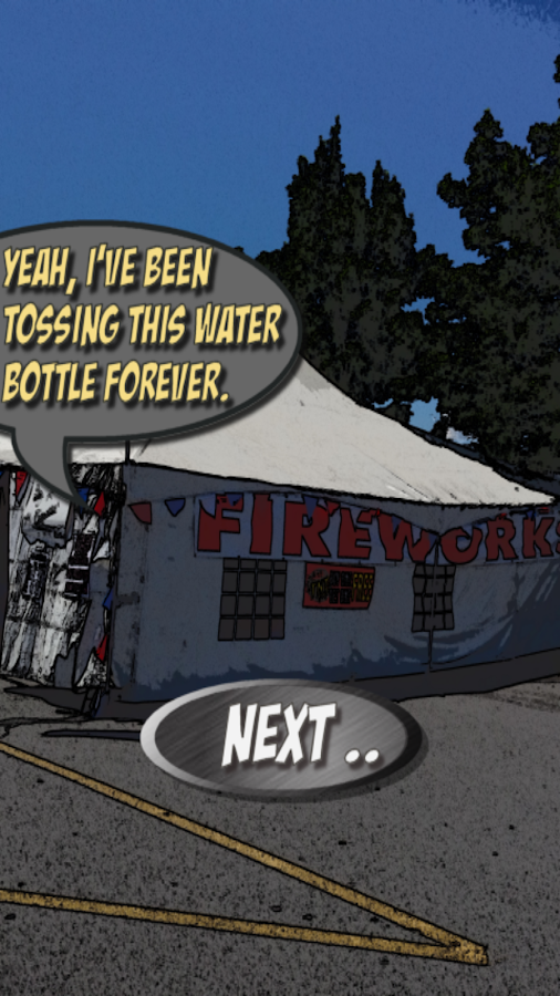 Comix Escape: Firework Tent- screenshot