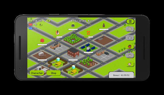 Hobo Business Clicker - screenshot
