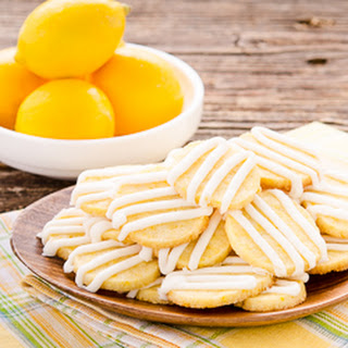 Meyer Lemon Butter Cookies