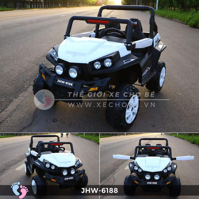 Xe ô tô điện cho bé 4 động cơ JHW-6188 7