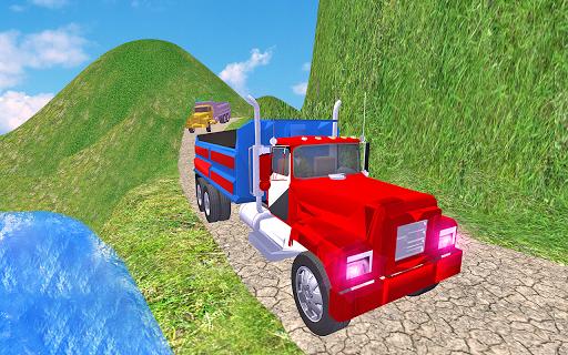 Code Triche 3D Truck Driving Free Truck Simulator Game APK MOD screenshots 5