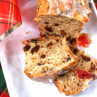 Mincemeat + Cherry Tea Cake.
