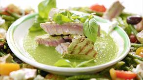 Griddled Tuna Nicoise Salad and Thai Chicken Laksa thumbnail