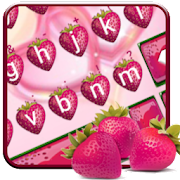 Love Red Stawberry Keyboard Theme APK for Bluestacks