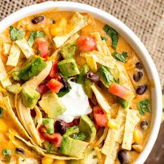 Slow Cooker Chicken Fajita Soup Recipe