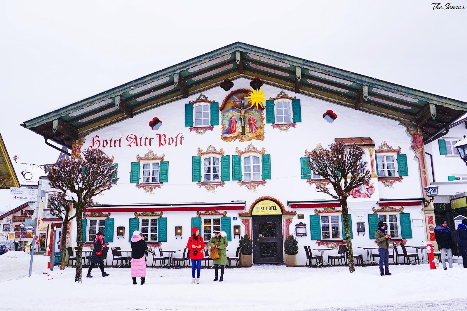 【2017德瑞法】奧伯拉瑪高Oberammergau-可愛溫馨小無聊的德國壁畫村 @ 蹺班179(77&99) :: 痞客邦
