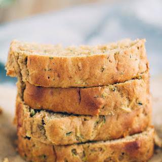Healthy Zucchini Bread.