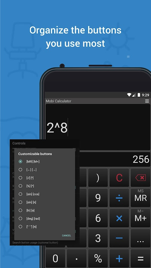 Mobi Calculator free & AD free!- screenshot