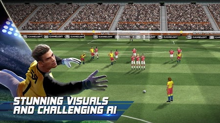 Real Football APK screenshot thumbnail 2