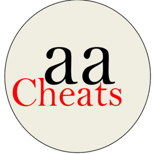 aa Cheats